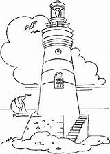 Coloring Lighthouse Pages Adults Books Print Patterns Adult Beach Sheets Colouring Burning Wood Staircase sketch template