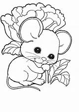 Mice Coloring Pages Fun sketch template