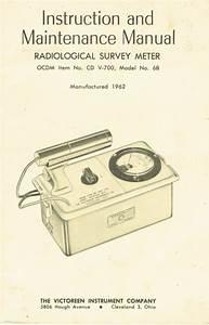 Geiger Survey Meter Instructions