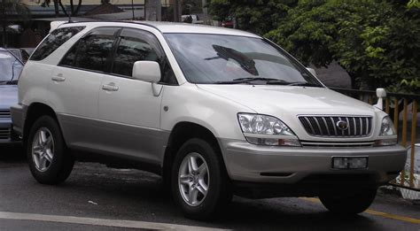 toyota harrier file toyota harrier first generation front kuala