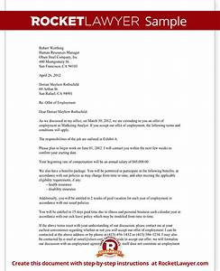 job offer letter employment offer letter template with With employment offer letter template california