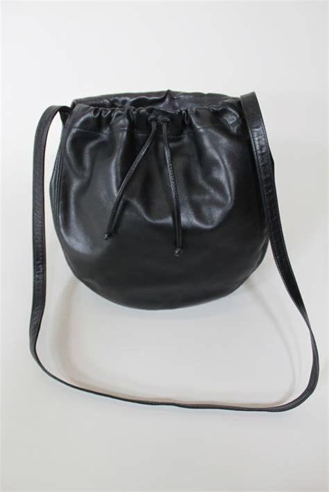 halston leather  pony hair purse  stdibs