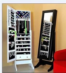 Miroir à Bijoux : miroirs debout d coratifs modernes d 39 armoire de bijoux d 39 ikea miroirs debout d coratifs ~ Teatrodelosmanantiales.com Idées de Décoration