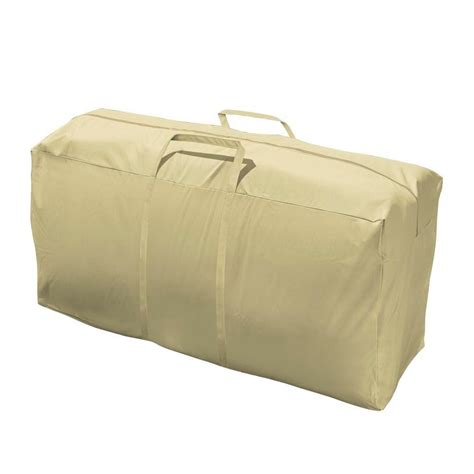 home depot patio cushion storage mr bar b q 48 in x 16 in x 24 in cushion storage bag