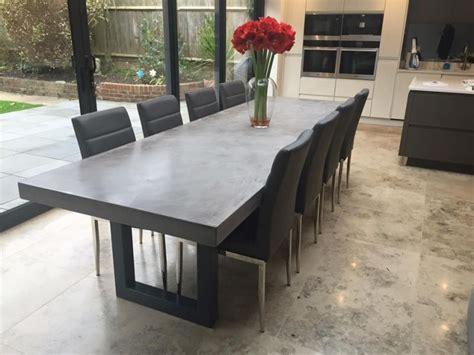 gallery bespoke polished concrete tables  daniel