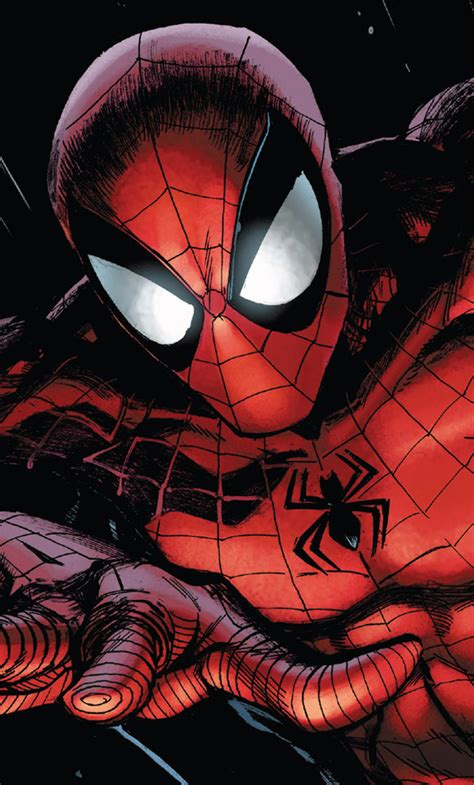 Free download 640x1136 wallpapers and backgrounds. 1280x2120 Spiderman Marvel Comics iPhone 6+ HD 4k Wallpapers, Images, Backgrounds, Photos and ...