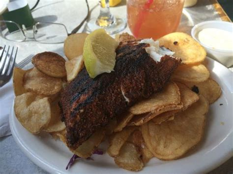 blackened haddock with homemade chips picture of chair 5
