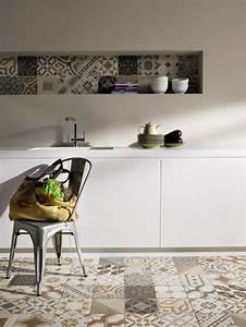 Tendance QuotCarreau De Cimentquot On Pinterest Cuisine Tile