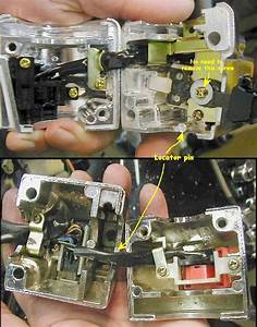 Diagram Or Pic Of Starter And Run  Kill Switch Internal