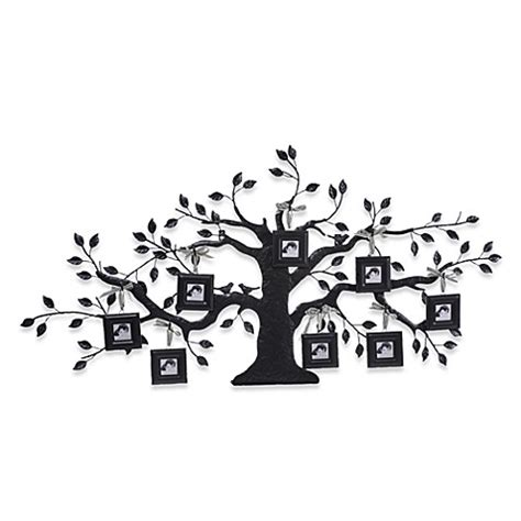 Creative Coop Family Tree Metal Picture Frame  Bed Bath