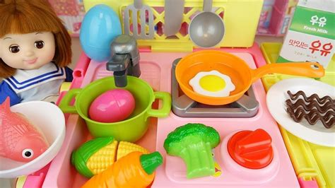 Baby Doll Cart Kitchen And Refrigerator Toys Baby Doli Play