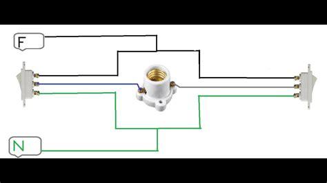 como conectar apagadores de escalera a corto circuito