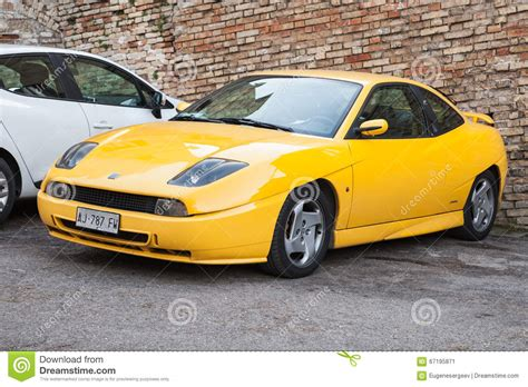 Fiat Coupe Or Type 175 A Coupe Sports Car Editorial Photo