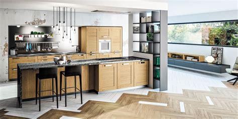ixina cuisines cuisine bois moderne truro chêne massif teinté