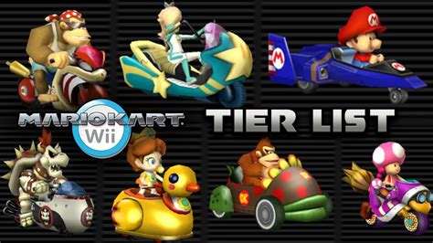Every Mario Kart Wii Vehicle Ranked Youtube