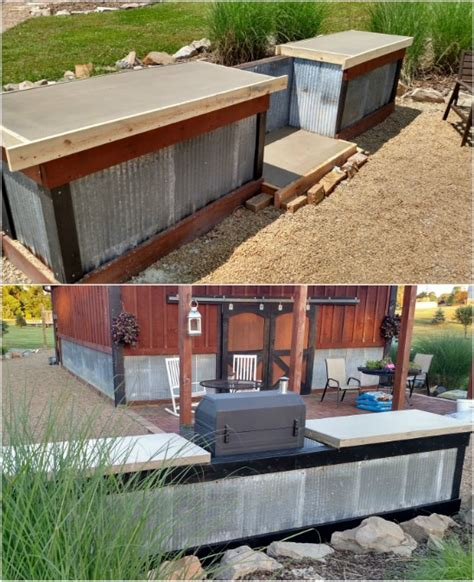 outdoor kitchen designs diy diy outdoor kitchens and grilling stations style motivation 3847