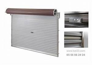 Volet Roulant Garage : porte de garage enroulable bordeaux installation gironde ~ Melissatoandfro.com Idées de Décoration