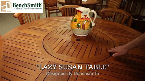 patio table lazy susan turntable wood lazy susans shop