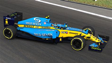 Renault R26 by 2006 F1 Renault R26 By Mike Owen Trading Paints