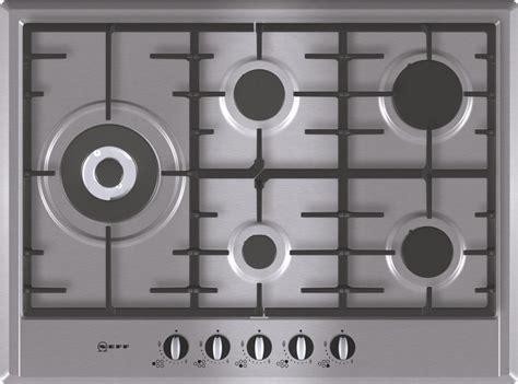 Buy Neff T25S76N0 5 Burner Gas Hob   Stainless Steel