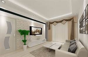 Simple living room ceiling lighting download d house