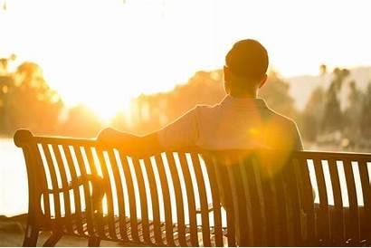 Wellness Spiritual Pondering Sunset Law Enforcement Spotlight