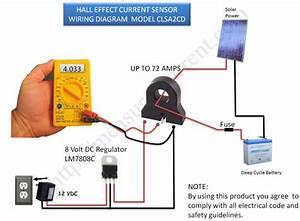100a Ac  Dc Current Sensor