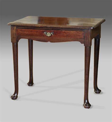vintage side tables for antique pad foot side table mahogany side table georgian 8844