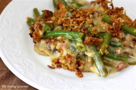 ultimate green bean casserole  scratch  daring