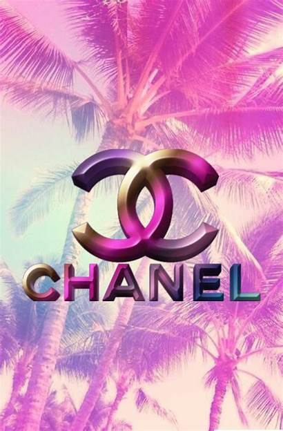 Chanel Iphone Coco Wallpapers Pink Background Brand