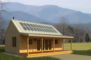 Cabin House Plans Solar Panels Made Simple Time To Build