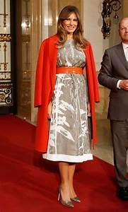 National Christmas Tree Lighting 2019 Melania Trump Style See What And Who The First Lady Has