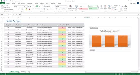 test script template software testing template ms word excel instant