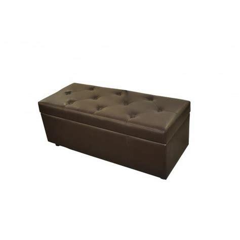 bout de canapé coffre banquette bout de lit chocolat ou coffre achat vente