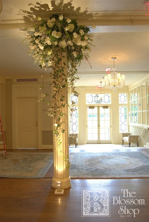 decorating columns 17 best images about column decor on pinterest outdoor wedding ceremonies white flowers and