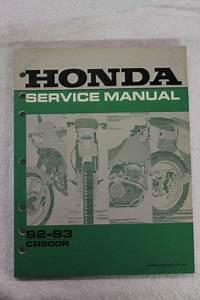 Honda Oem Service Repair Manual 92