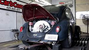 Fuel Injected Vw Bug Dyno 1600 Dp With Itb U0026 39 S
