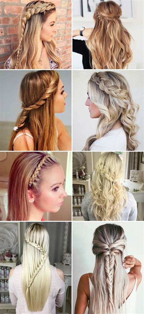 cute back to school hairstyles for middle hair