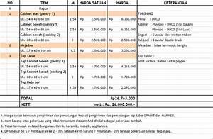 WORKSHOP KITCHEN SET JAKARTA INDONESIA