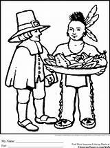 Coloring Pilgrim Thanksgiving Pilgrims Sheets Printable Ginormasource Printables Native Peach Indians Turkey Worksheets Coloringtop sketch template