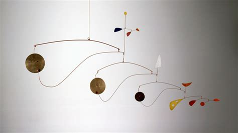 Calder Mobile Sculptures by Performing Sculpture Frames Of Reference