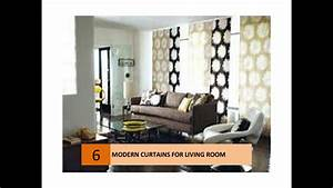Modern curtain ideas for your living room youtube for Modern curtains for living room 2014