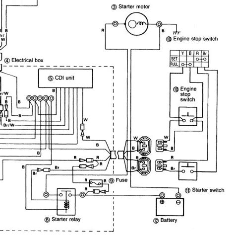 Wiring Diagram For 04 Yamaha Blaster by Yamaha Blaster Tors System Wiring Diagram