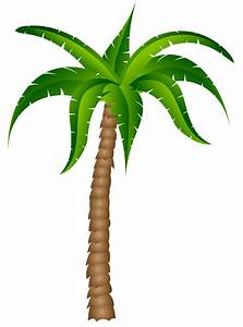 Palm tree palm silhouette clipart clipartcow 2 ...