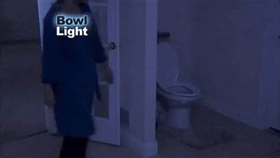Toilet Motion Activated Night Human Lights Button