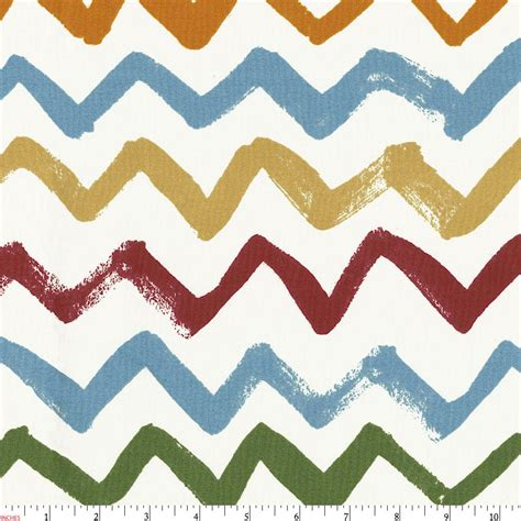 blue gray comforter painted zig zag fabric by the yard fabric carousel
