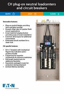 Eaton Chfpafgf115cs All In One Breaker Plug On Neutral