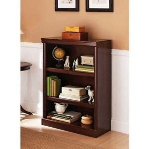Small Office Bookcase by Small Bookcase 3 Shelf Cherry Wood Modern Home Office