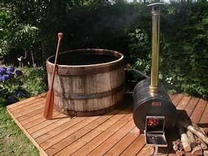Fabriquer Un Jacuzzi : fabriquer un bain nordique hot tub outdoor in the woods bain nordique nordique france ~ Melissatoandfro.com Idées de Décoration