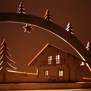 Lichterkette Für Schwibbogen : lichterbogen blockh tte schwibbogen aus holz mit 10er lichterkette f r weihnachten ~ Orissabook.com Haus und Dekorationen